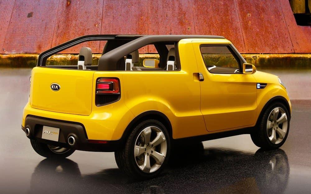 Kia Soulster Concept Truck