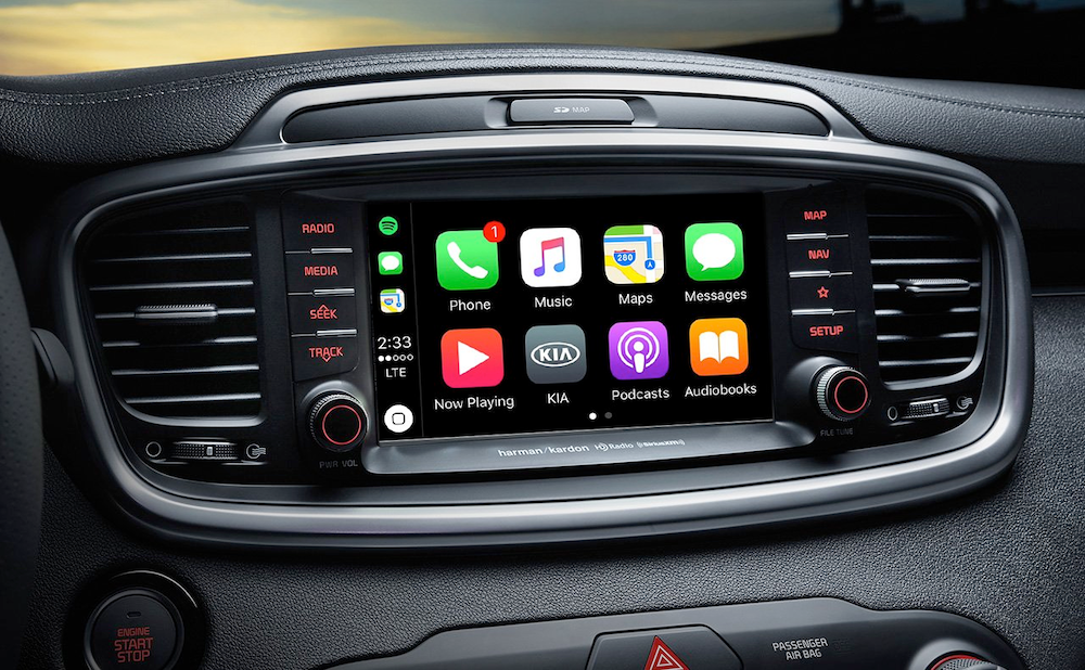 2019 Sorento Apple CarPlay