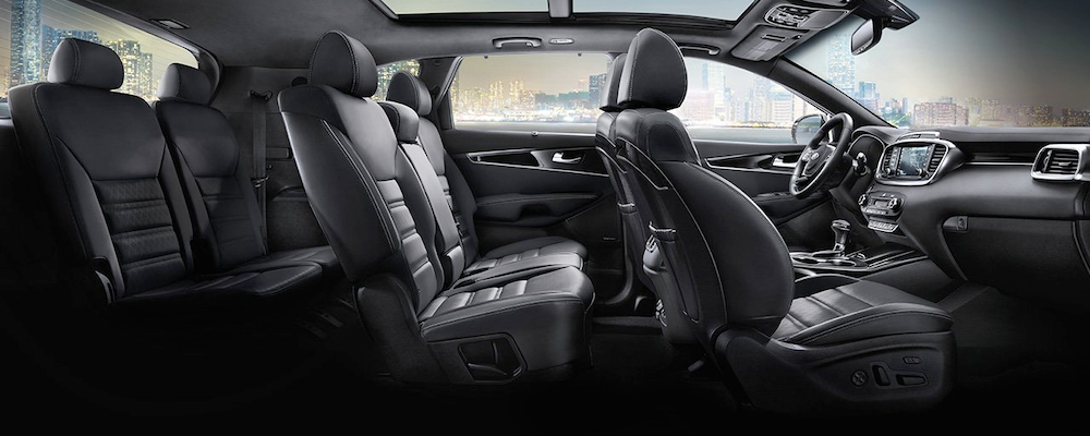 2019 Sorento - three rows of seating