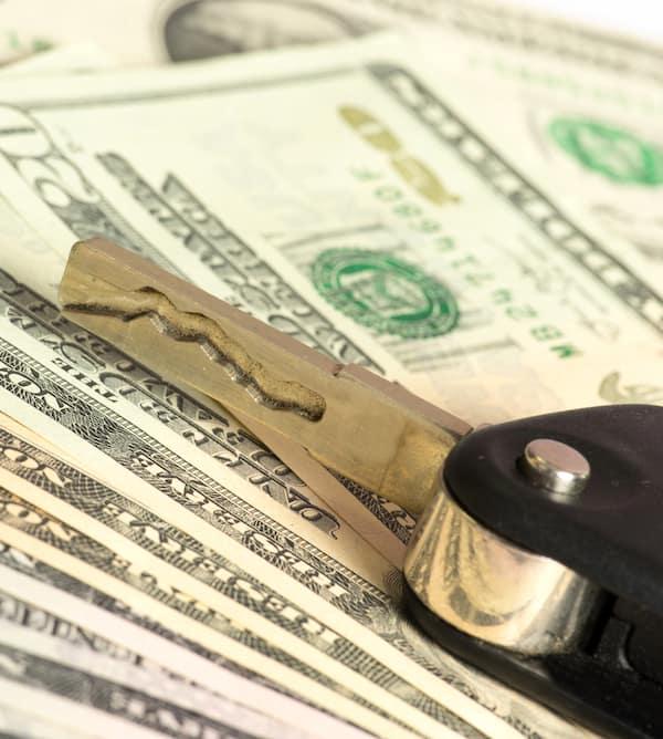 Car Key and Money