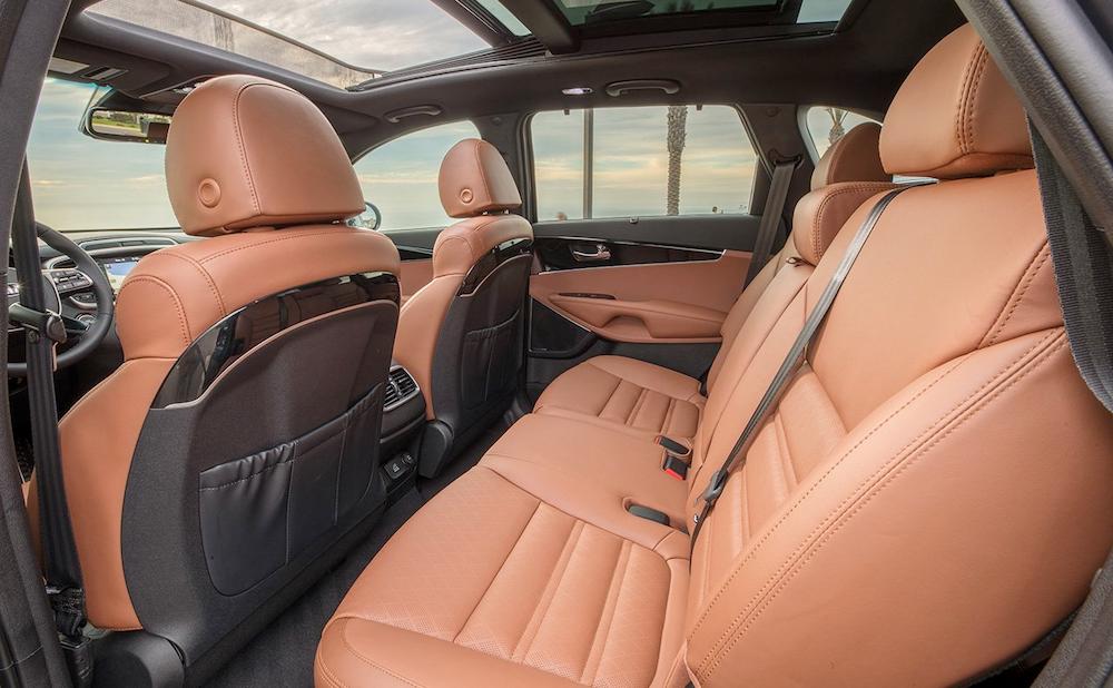 2019 Sorento rear seats