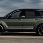 2020 Kia Telluride in profile