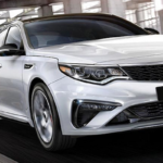 2020 Optima on the road