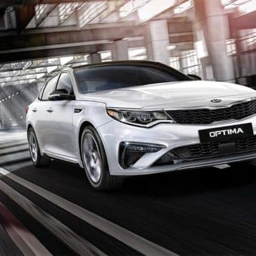 2020 Kia Optima Driving