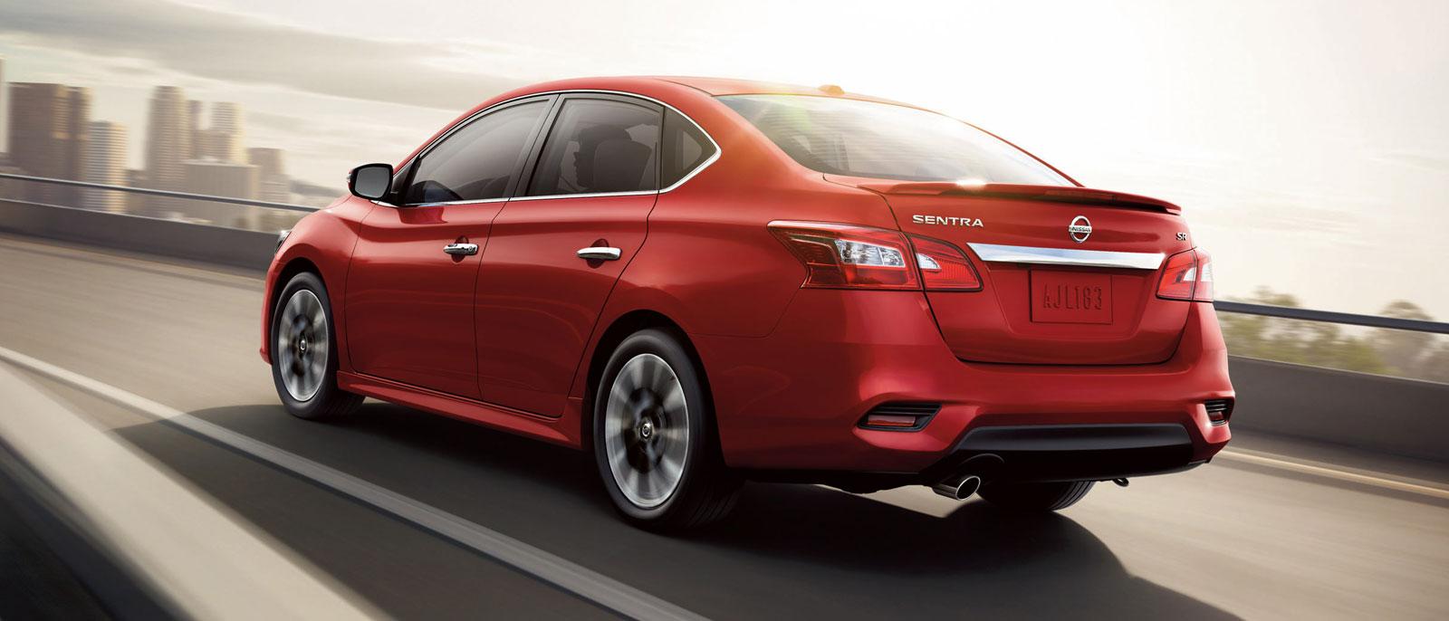 2016 Nissan Sentra rear exterior