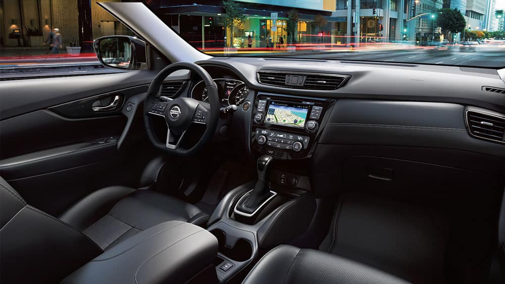 2017 Nissan Rogue Interior