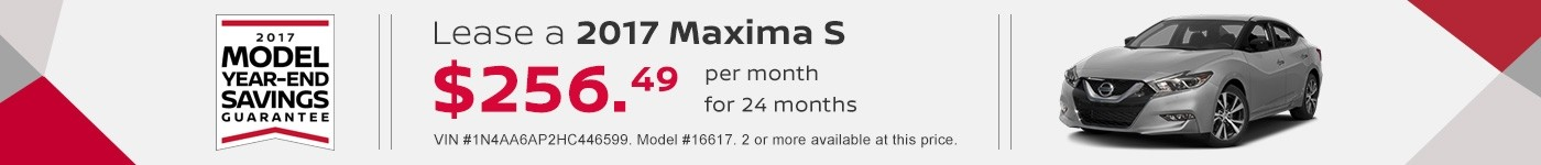 Maxima September Offer Jeffrey Nissan