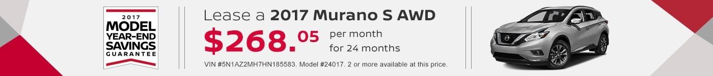Murano September Offer Jeffrey Nissan