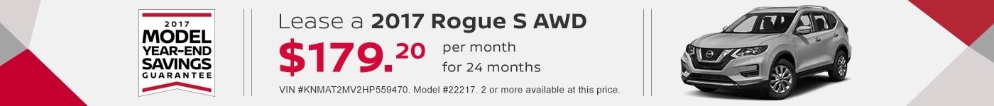 Rogue S September Offer Jeffrey Nissan