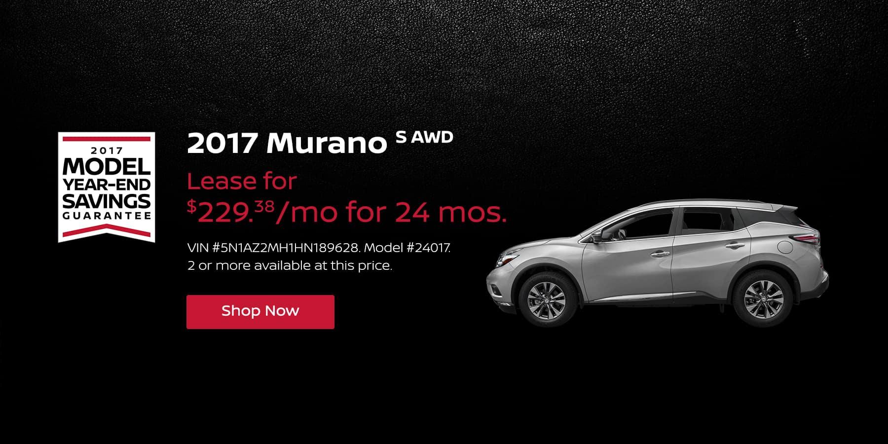 Murano January Offer Jeffrey Nissan