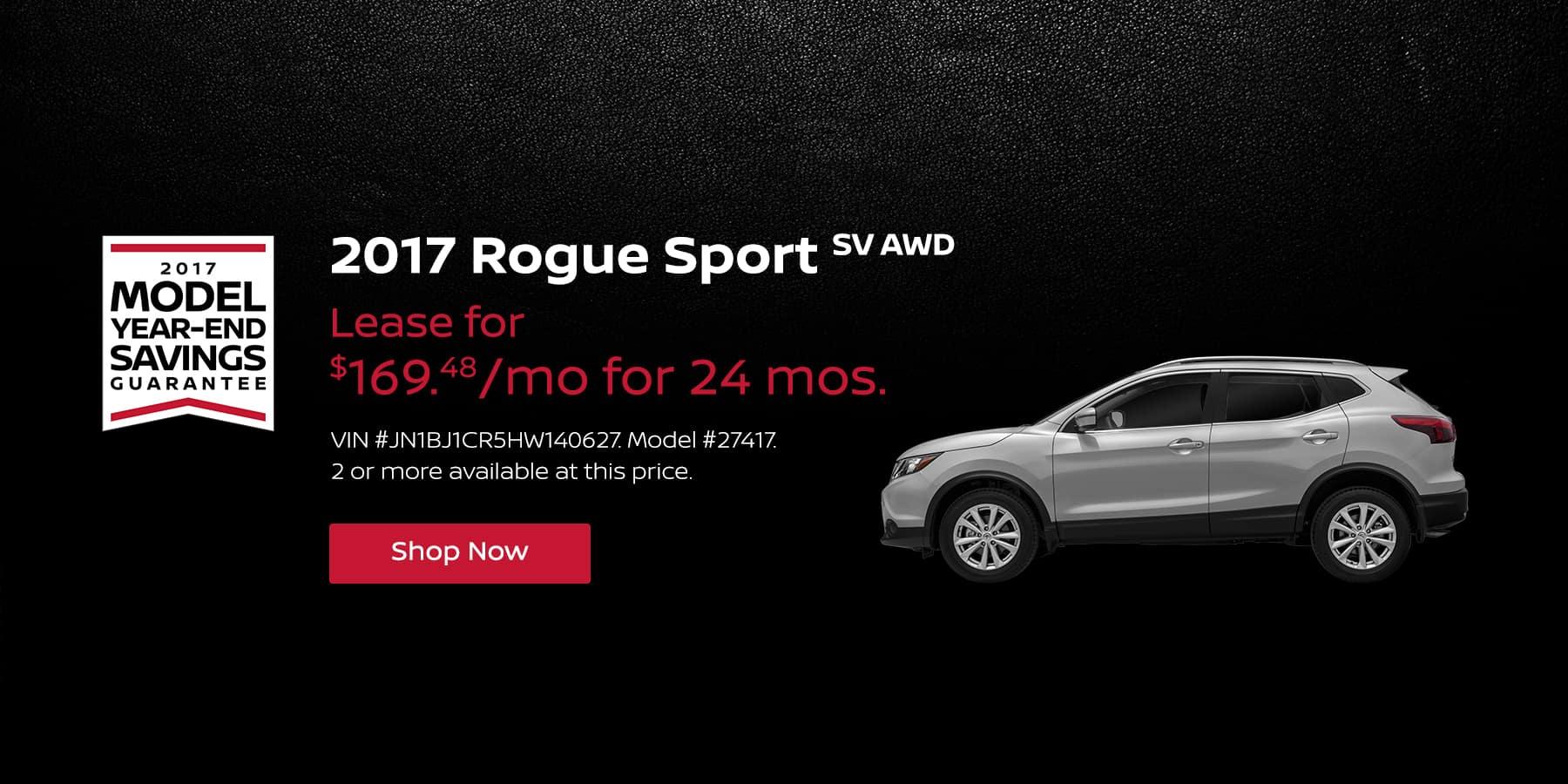 Rogue Sport January Offer Jeffrey Nissan