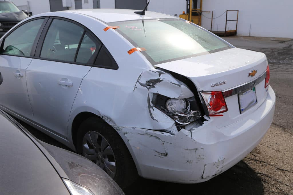 Cruze in accident