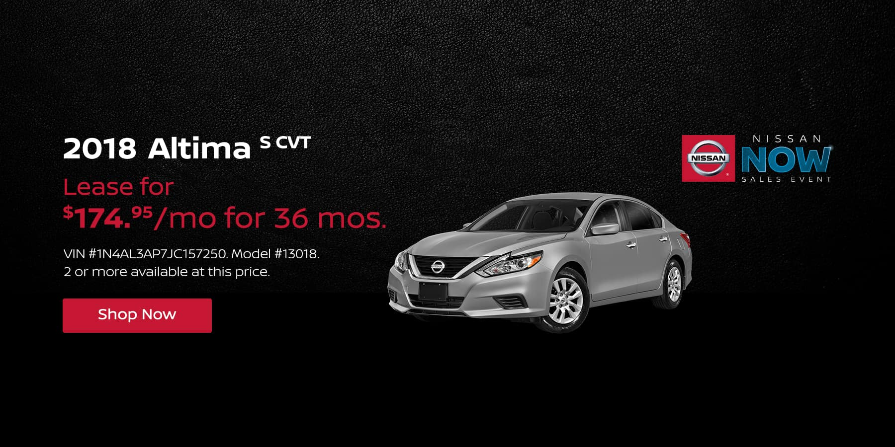 Jeffrey Nissan February Altima Offer