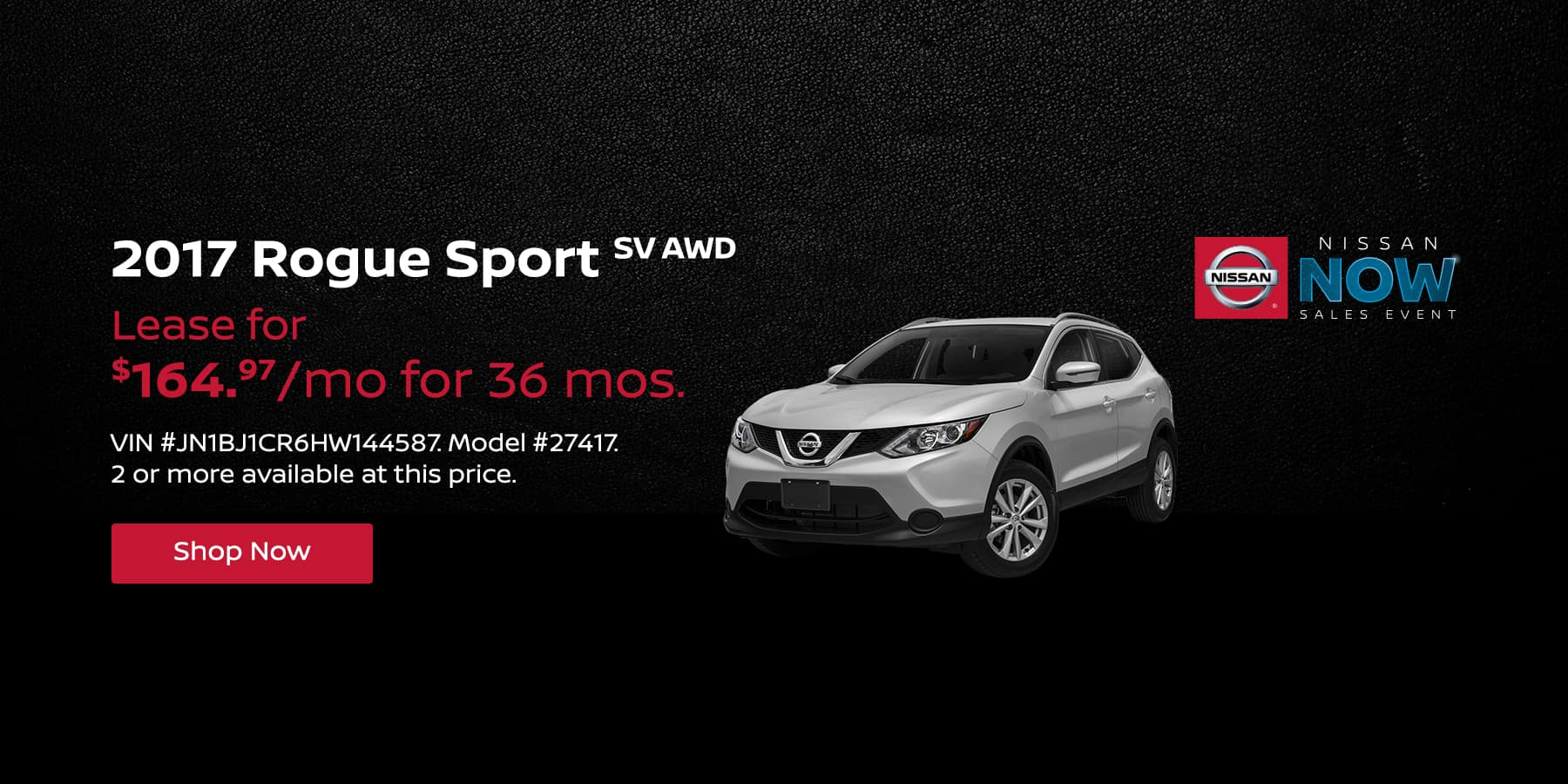 2017 Rogue Sport February Offer