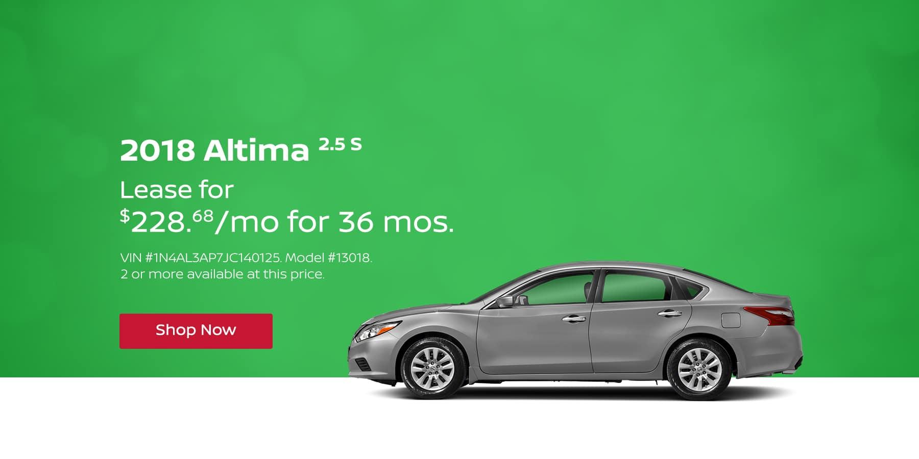 Altima April Offer