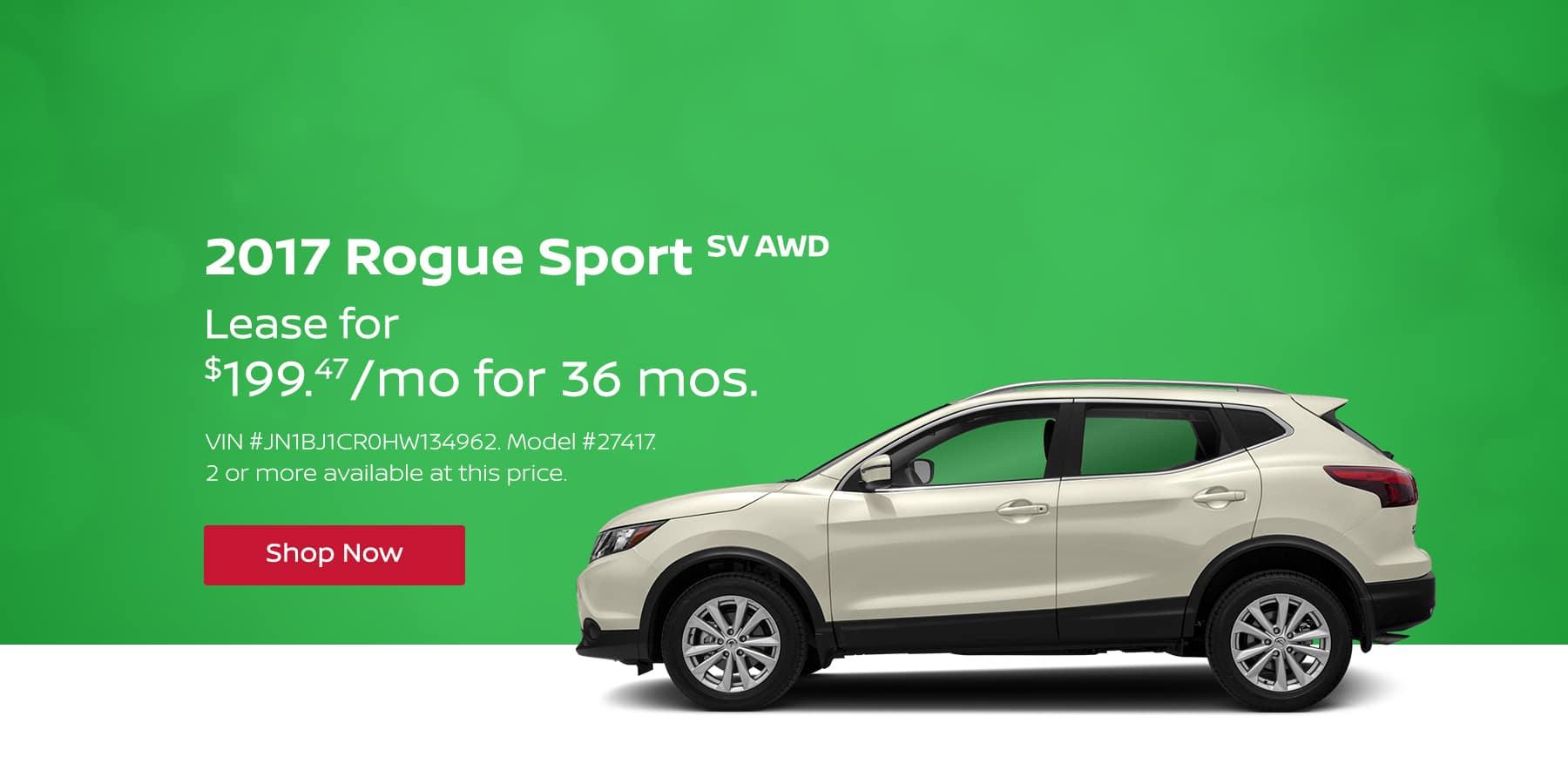 Rogue Sport April Offer