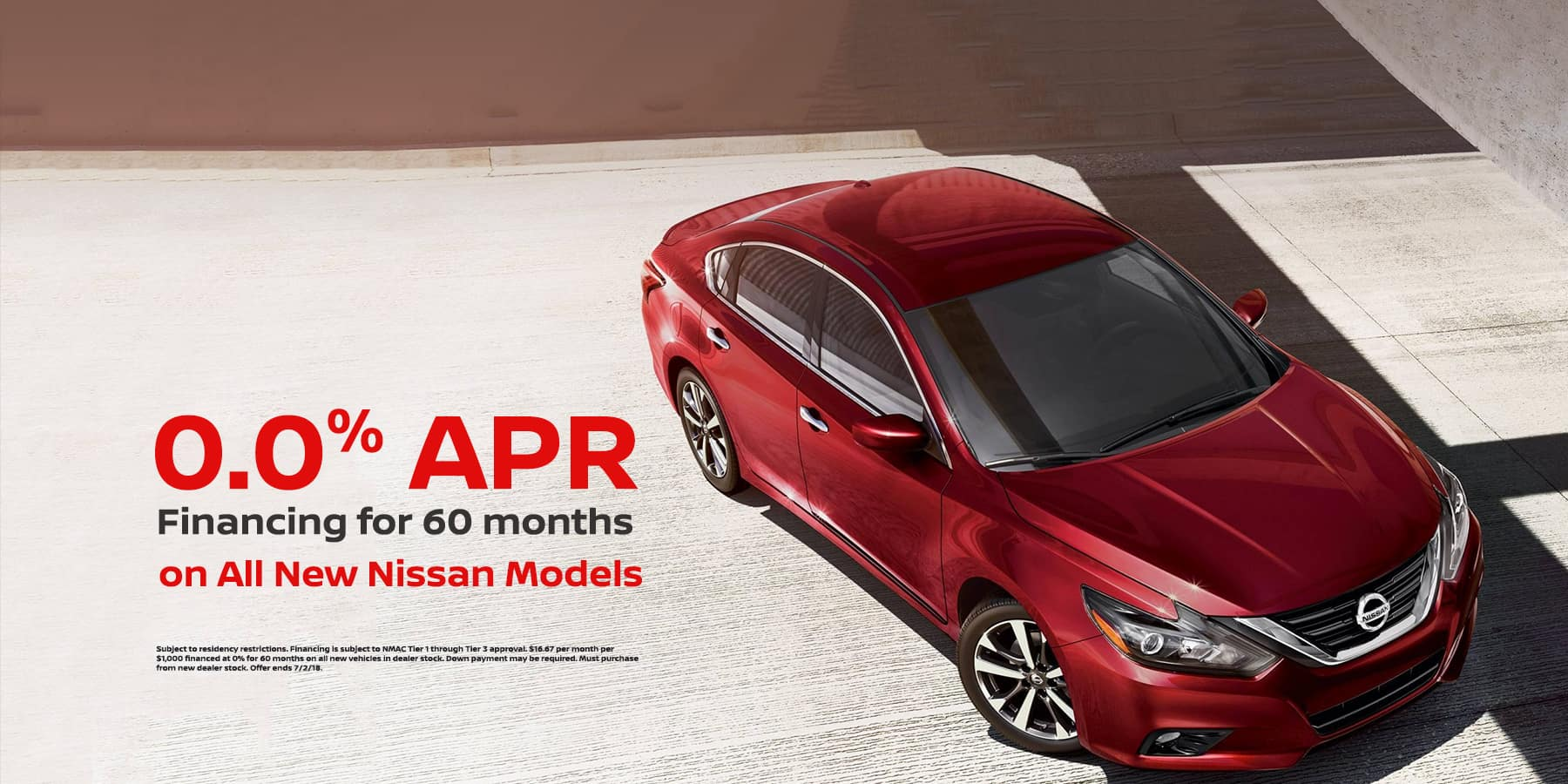 0% APR on New Vehicles at Jeffrey Nissan
