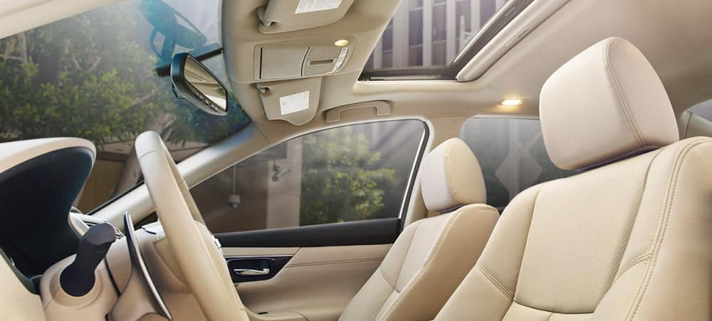 Sit Back and Get Comfortable in the Luxe Nissan Altima Interior