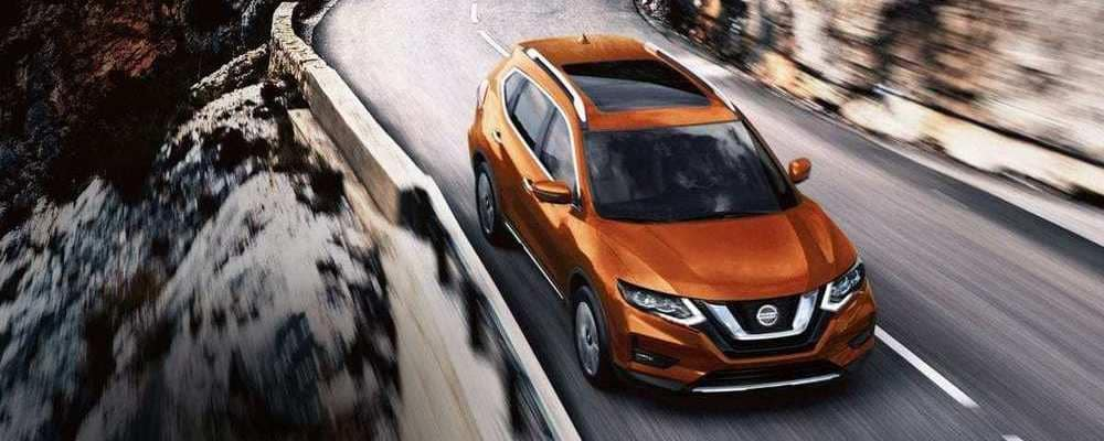 2018 Nissan Rogue Orange Driving