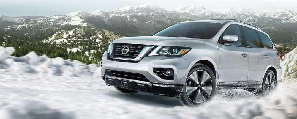 2019 Nissan Pathfinder In Snow