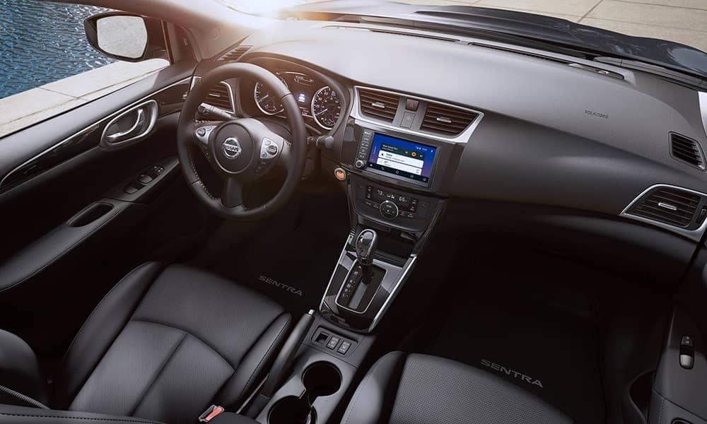2019 Nissan Sentra front interior cabin