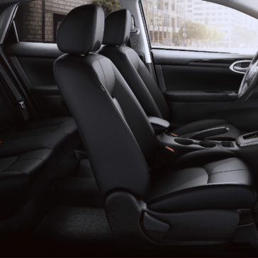 2019 Nissan Sentra interior cabin side view