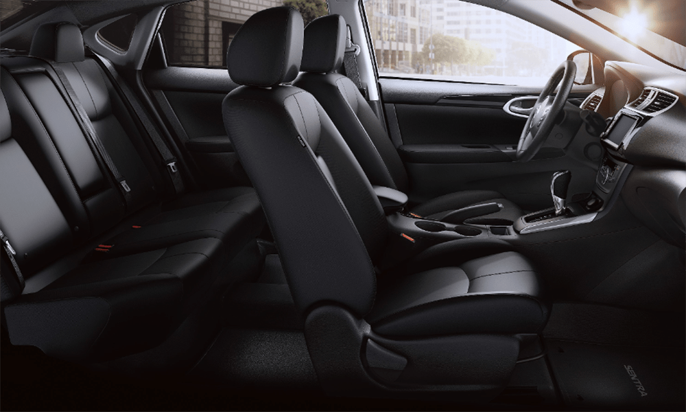 2019 Nissan Sentra interior cabin side view