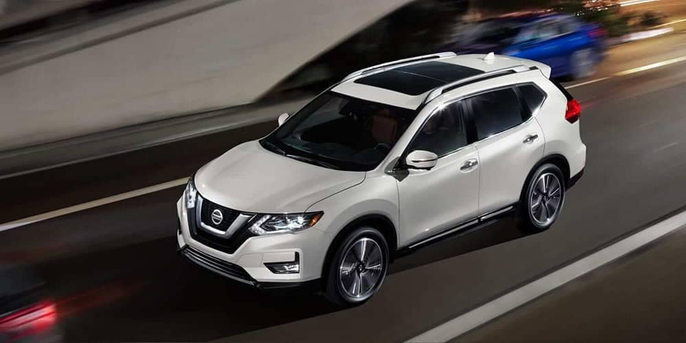 exterior of 2019 Nissan Rogue