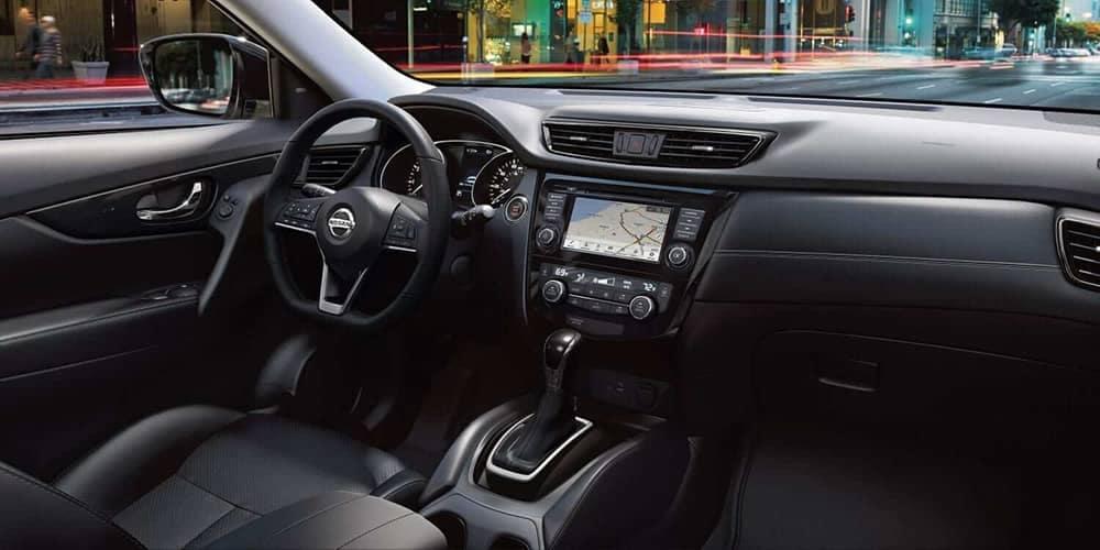 dashboard in 2019 Nissan Rogue