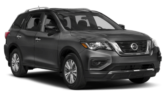 2019 Nissan Pathfinder in Gray