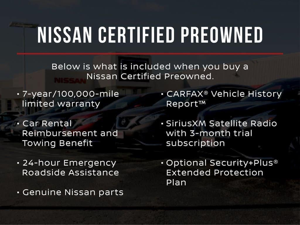 Nissan CPO Benefits