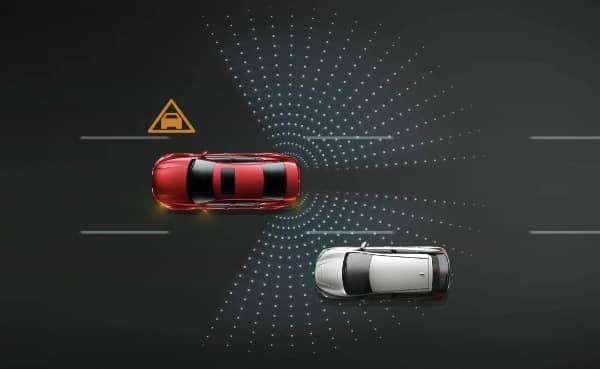 Nissan blindspot warning