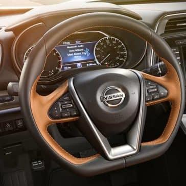 2019 Nissan Maxima Dash