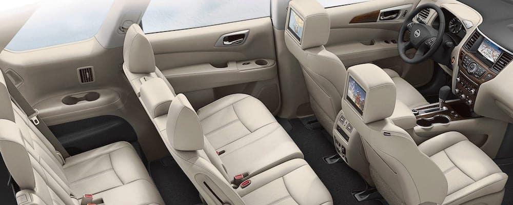 2019 Nissan Pathfinder seating