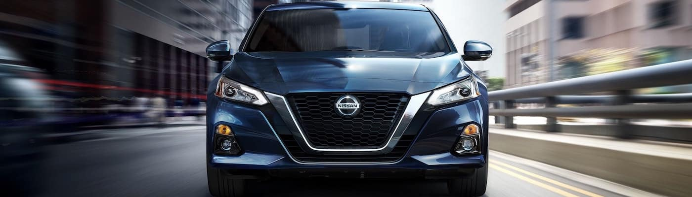 2020 Nissan Altima from the front