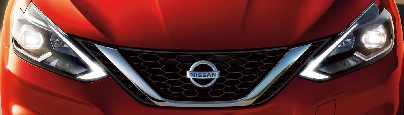 2020 Nissan Sentra grille