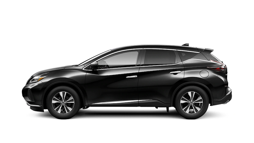 2020 Nissan Murano S from the side