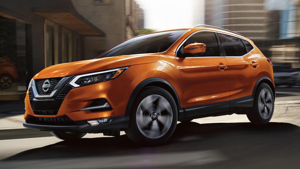 Orange 2020 Nissan Rogue Sport