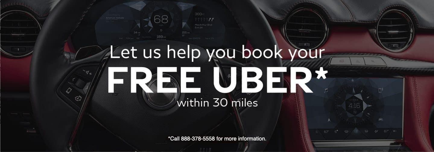 Free Uber Offer Slide