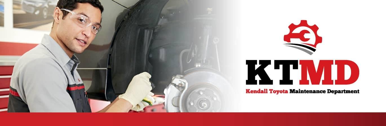Kendall Toyota Maintenance Department