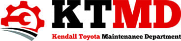 Kendall Toyota Maintenance Department Logo