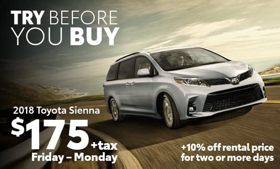 Sienna Try Before You Buy