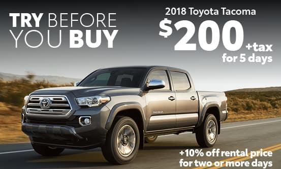 2018 Toyota Tacoma Special