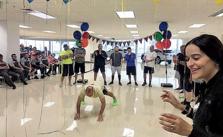 Bean Auto Group Fitness Challenge