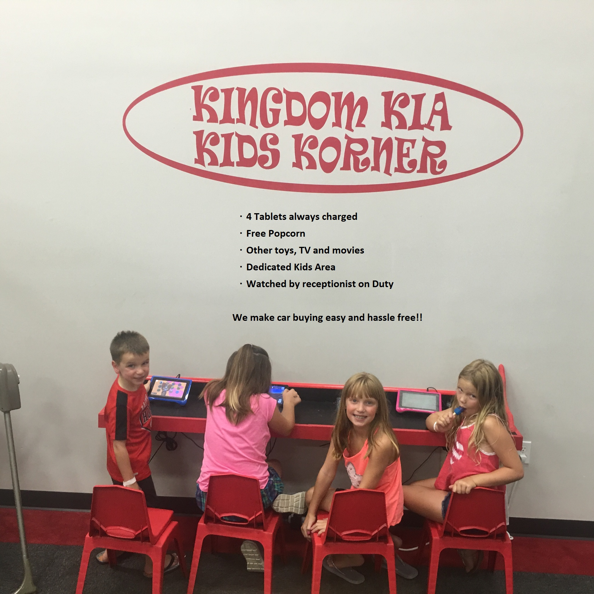 Kingdom Kia Kids Korner