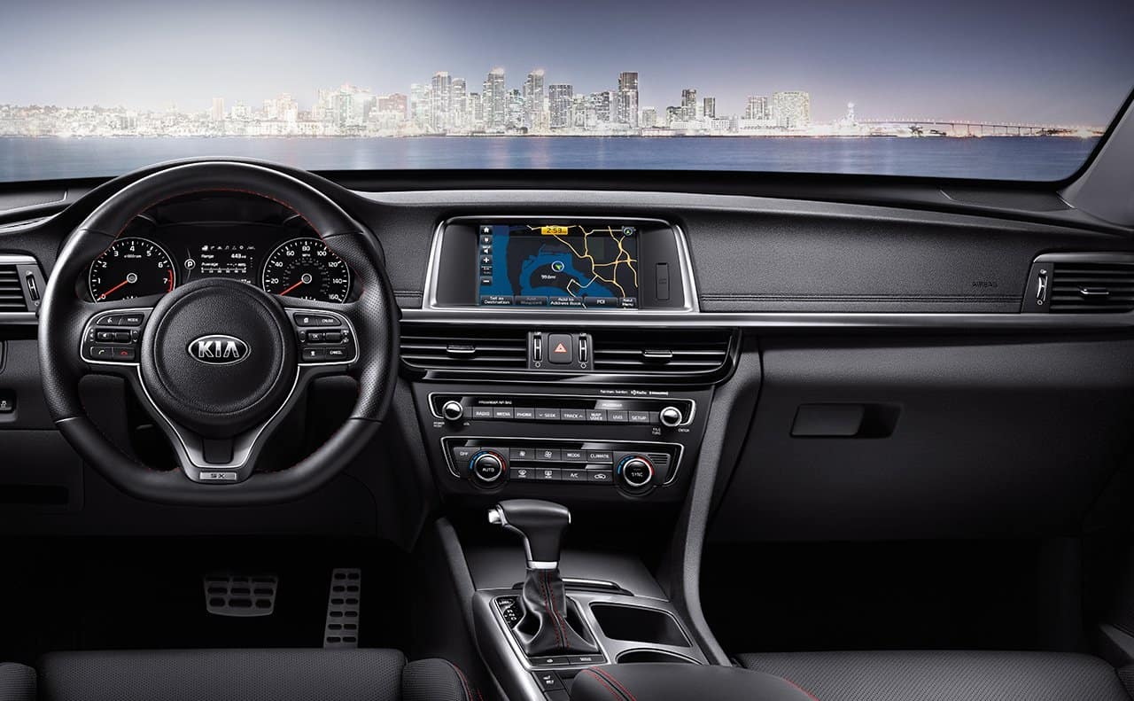 2018 Kia Optima Cockpit