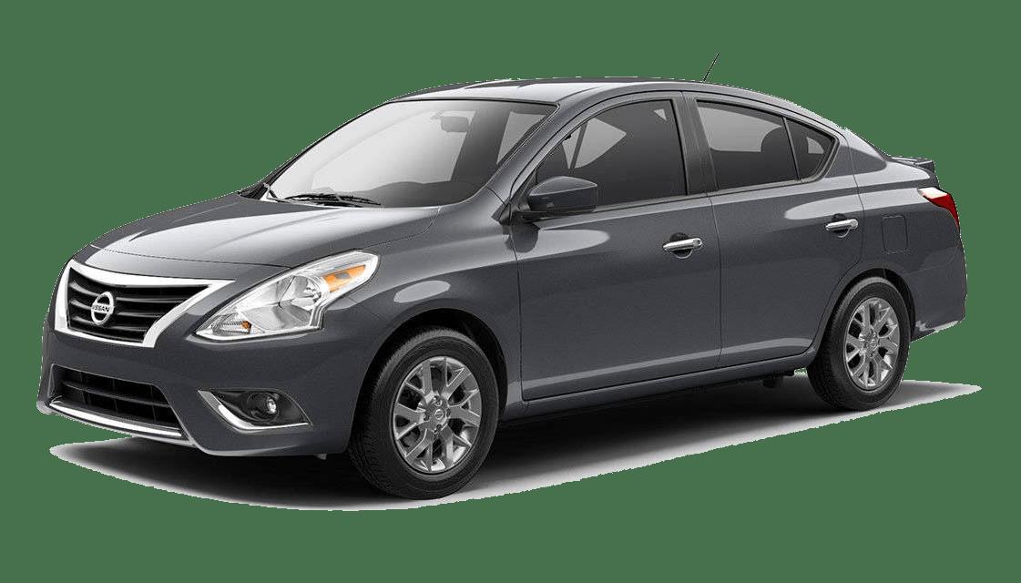 Gray Nissan Versa