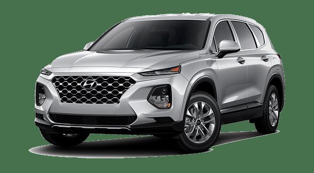 Silver 2019 Hyundai Santa Fe
