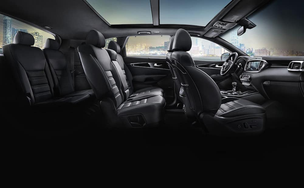 2019 Kia Sorento three row seating