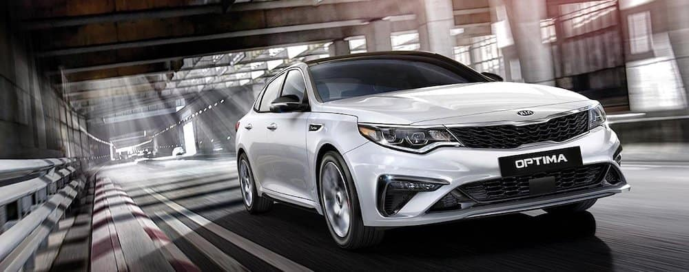 2019 Kia Optima on Road